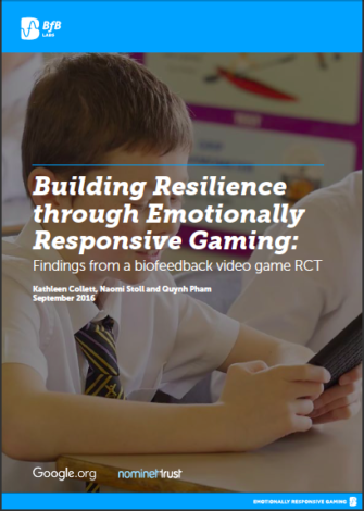 Building Resilience through Emotionally Responsive Gaming: Findings from a biofeedback video game RCT